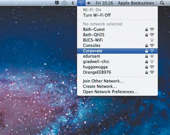 Mac jaringan ikon